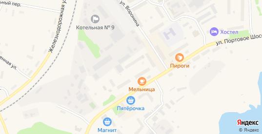 Территория б/о Метеостанции в Беломорске с номерами домов на карте. Спутник и схема онлайн