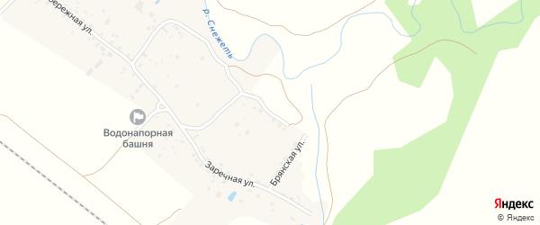 Белобережская улица на карте деревни Мылинки с номерами домов
