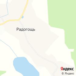 Действующее производство по распилу древесины в деревне Радогощь на карте