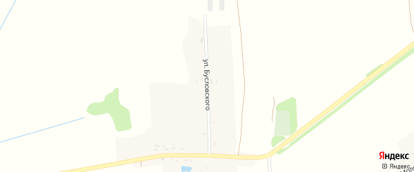 Улица Бусловского на карте деревни Нехочи Калужской области с номерами домов