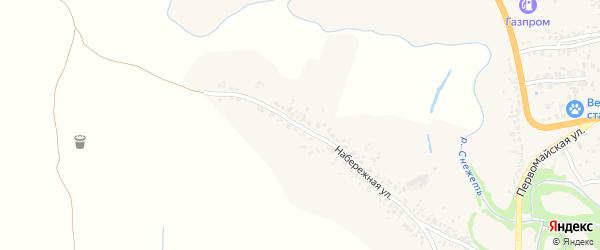 Набережная улица на карте села Бережка с номерами домов