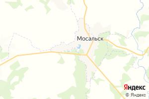 Карта г. Мосальск Калужская область