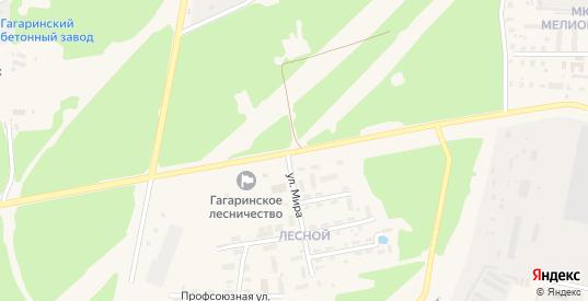 Улица Михайлюкова в Гагарине с номерами домов на карте. Спутник и схема онлайн
