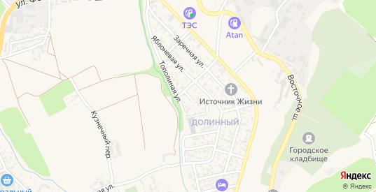 Тихая улица в Судаке с номерами домов на карте. Спутник и схема онлайн
