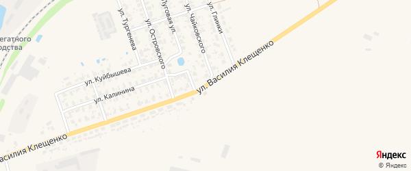 Улица Энгельса на карте Торжка с номерами домов