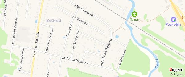 Улица Пржевальского на карте Гагарина с номерами домов