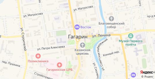 Улица Королева в Гагарине с номерами домов на карте. Спутник и схема онлайн