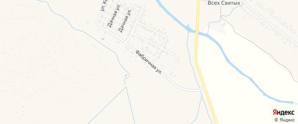 Фабричная улица на карте Карачева с номерами домов