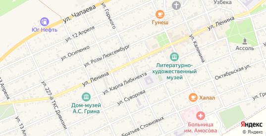 Улица Горького в Старом Крыме с номерами домов на карте. Спутник и схема онлайн