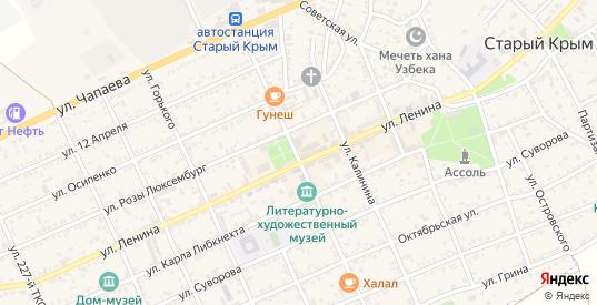 2 Дачный переулок в Старом Крыме с номерами домов на карте. Спутник и схема онлайн