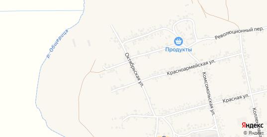Октябрьская улица в Дмитровске с номерами домов на карте. Спутник и схема онлайн