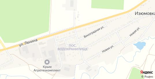 Виноградная улица в Старом Крыме с номерами домов на карте. Спутник и схема онлайн