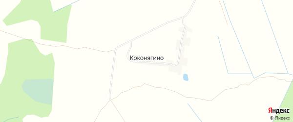 Карта деревни Коконягино в Тверской области с улицами и номерами домов