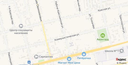 Рабоче-Крестьянская улица в Дмитровске с номерами домов на карте. Спутник и схема онлайн
