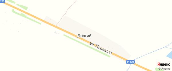 Территория сдт работников Ремтехпредприятия на карте Долгого поселка с номерами домов