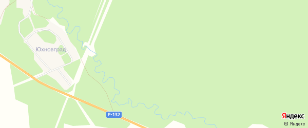 Карта деревни Чермошня в Калужской области с улицами и номерами домов