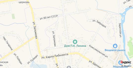 Красноармейская улица в Судже с номерами домов на карте. Спутник и схема онлайн