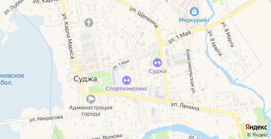 Улица Р.Люксембург в Судже с номерами домов на карте. Спутник и схема онлайн