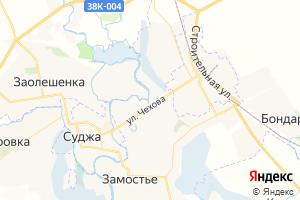 Карта г. Суджа Курская область