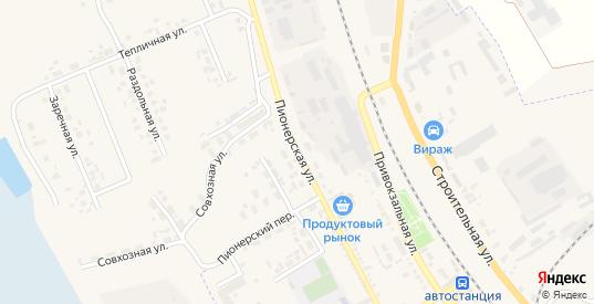 Пионерская улица в Судже с номерами домов на карте. Спутник и схема онлайн