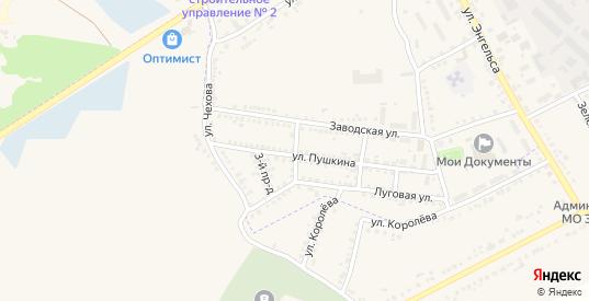 2-й проезд в Судже с номерами домов на карте. Спутник и схема онлайн