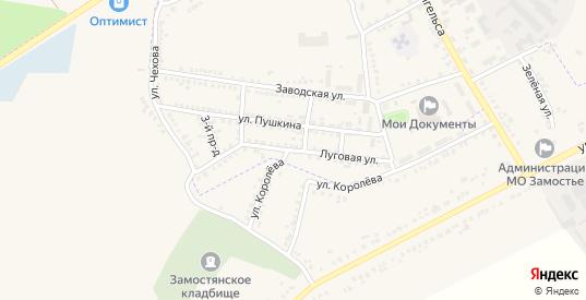 Луговая улица в Судже с номерами домов на карте. Спутник и схема онлайн