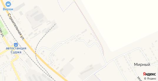 Строительный переулок в Судже с номерами домов на карте. Спутник и схема онлайн