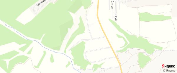 Садовое товарищество Обуховский лог на карте Дмитровского района Орловской области с номерами домов