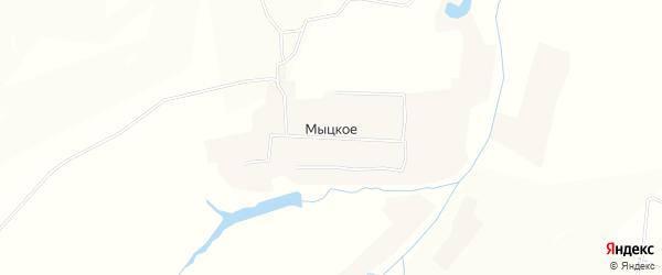 Карта Мыцкого села в Орловской области с улицами и номерами домов