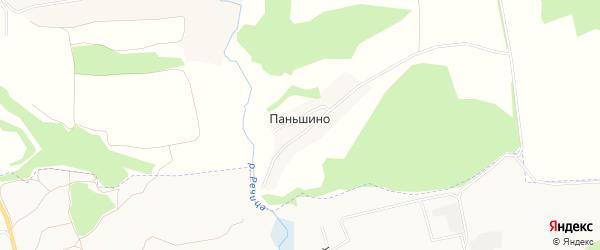 Карта поселка Паньшино в Орловской области с улицами и номерами домов