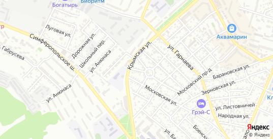 8-й Профсоюзный проезд в Феодосии с номерами домов на карте. Спутник и схема онлайн