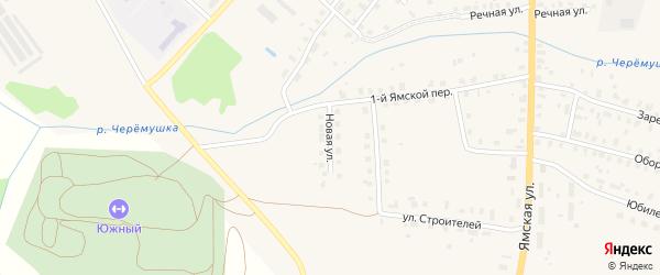 Новая улица на карте населенного пункта МПМК с номерами домов