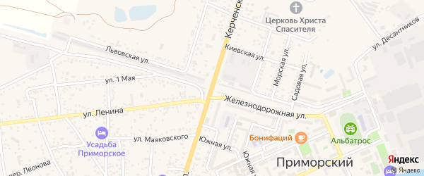 Цветочная улица на карте садового некоммерческого товарищества Отдыха с номерами домов