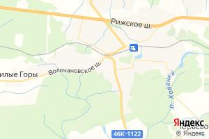 Карта пос. Шаховская Московская область