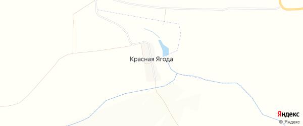Карта поселка Красной Ягоды в Орловской области с улицами и номерами домов