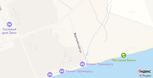 Вертолетная улица в поселке Приморский в Феодосии с номерами домов на карте. Спутник и схема онлайн