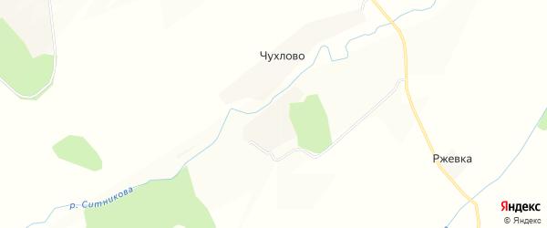 Карта деревни Косовки в Калужской области с улицами и номерами домов