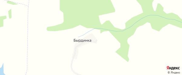 Карта деревни Бырдинки в Орловской области с улицами и номерами домов