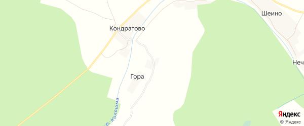 Карта деревни Качалово в Вологодской области с улицами и номерами домов