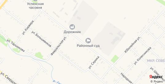 Народная улица в Грайвороне с номерами домов на карте. Спутник и схема онлайн