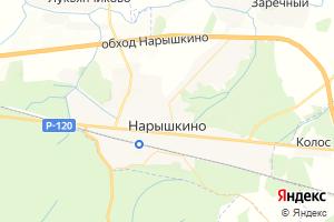 Карта пгт Нарышкино