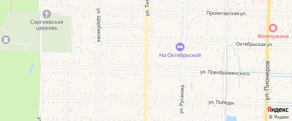 Улица Титова на карте Пестово с номерами домов
