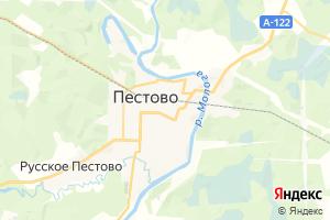 Карта г. Пестово Новгородская область