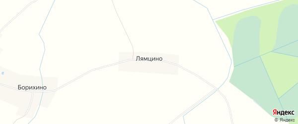 Карта деревни Лямцино в Новгородской области с улицами и номерами домов