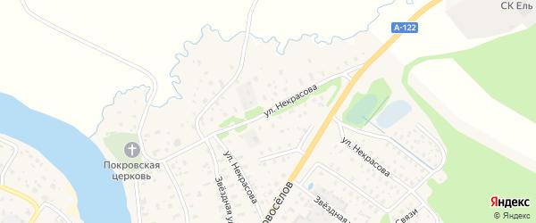 Улица Некрасова на карте Пестово с номерами домов
