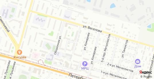 Металлистов 4-й переулок в Твери с номерами домов на карте. Спутник и схема онлайн