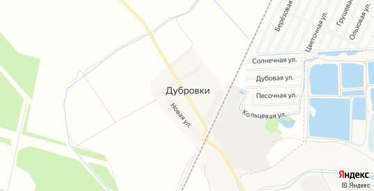 Карта деревни Дубровки в Твери с улицами, домами и почтовыми отделениями со спутника онлайн