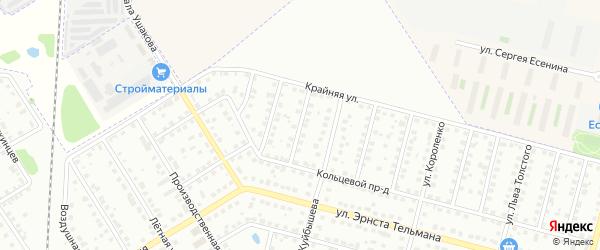 2-й Кольцевой проезд на карте Твери с номерами домов