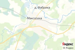 Карта г. Максатиха Тверская область