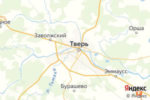 Карта г. Тверь Тверская область